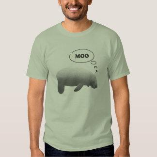 Camiseta de la vaca de mar playera