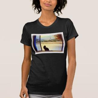 Camiseta de la ventana del invierno de Tosca