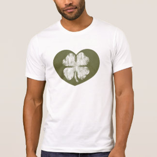 Camiseta de la versión del Grunge del día del St.