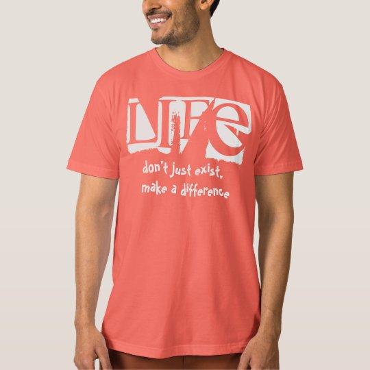 Camiseta de la vida