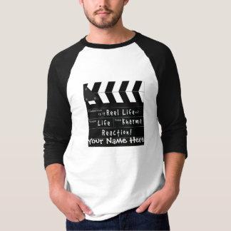Camiseta de la vida del carrete playera