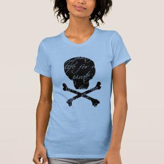 Camiseta de la vida del pirata polera