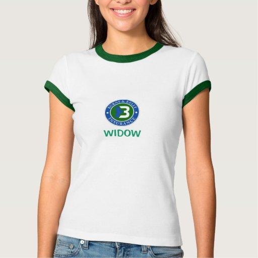 Camiseta de la viuda de las sopladuras poleras