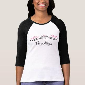 Camiseta de la voluta de la tiara de Brooklyn por
