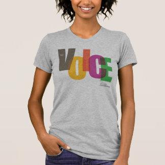 Camiseta de la voz del NEC (femenina) Playeras