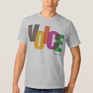 Camiseta de la voz del NEC (varón) Playera