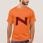 Camiseta de la vuelta del dibujo animado del poder