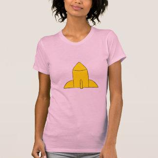 Camiseta de la vuelta del dibujo animado del poder playeras