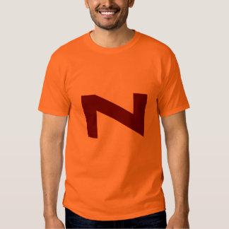 Camiseta de la vuelta del dibujo animado del poder polera