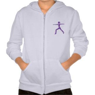 Camiseta de la yoga de la juventud sudadera