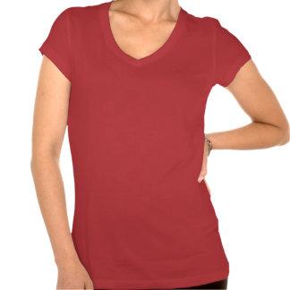 Camiseta de la yoga de Namaste para las mujeres