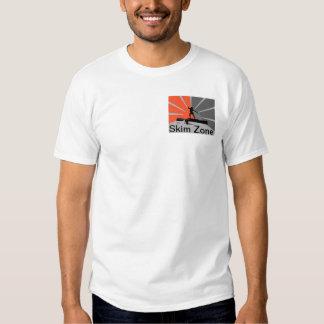 Camiseta de la zona de la leche desnatada polera