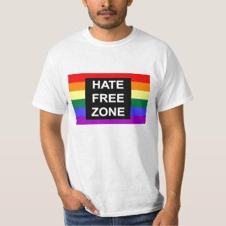 Camiseta de la zona franca del odio