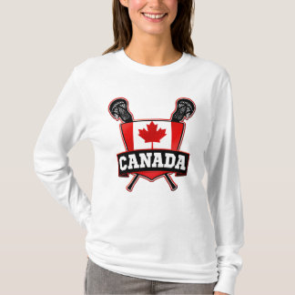 Camiseta de LaCrosse del canadiense