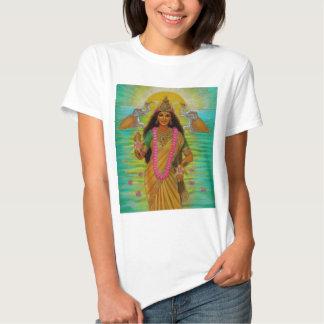 Camiseta de Lakshmi de la diosa Polera