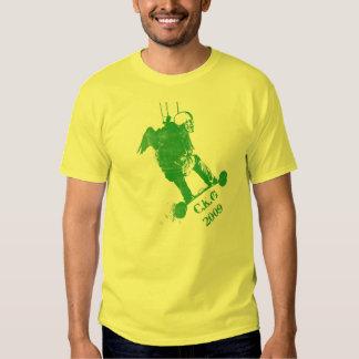 Camiseta de Landboarding de la cometa Playera