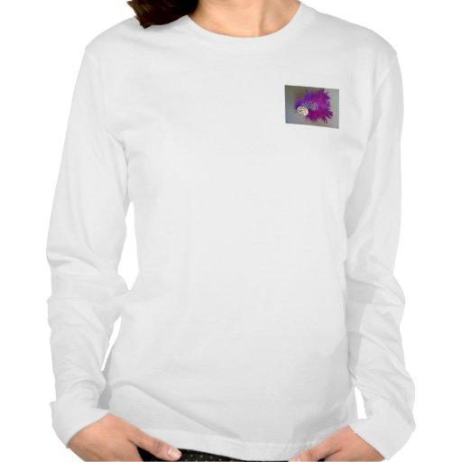Camiseta de largo envuelta de Fascinator Playeras
