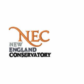 Camiseta de largo envuelta del NEC (femenina)