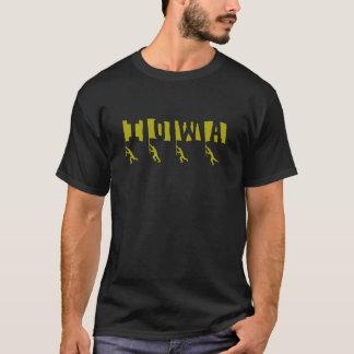"""Camiseta de las """"banderas"""" del fútbol de Iowa"""