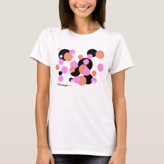 Camiseta de las burbujas