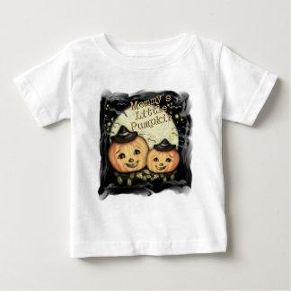 Camiseta de las calabazas del vintage de Halloween Playeras
