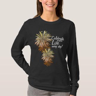 Camiseta de las celebraciones de la vida