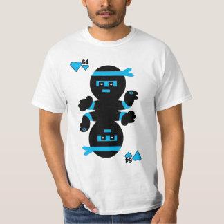 Camiseta de las costuras del videojugador de Ninja