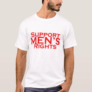 Camiseta de las derechas de los hombres de la