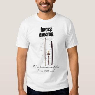 Camiseta de las espadas de Hanzo Playeras