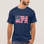 Camiseta de las estrellas y de las rayas de SEPA
