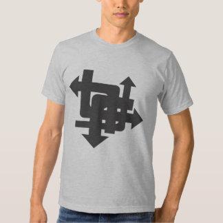 Camiseta de las flechas poleras
