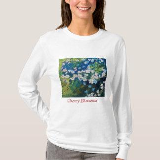 Camiseta de las flores de cerezo