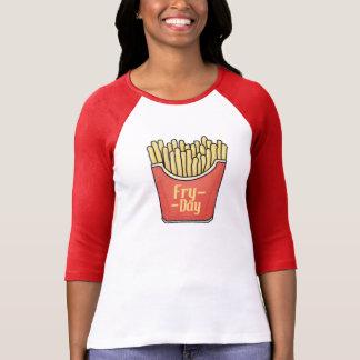 ¡Camiseta de las fritadas - su Fritada-Día! Playera