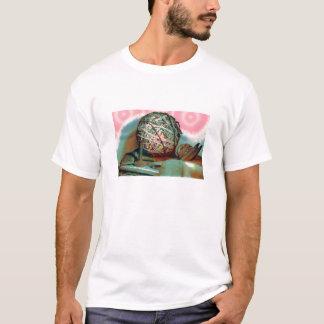 Camiseta de las fuentes que acolcha
