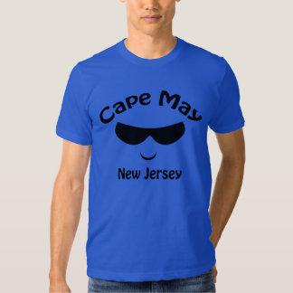 Camiseta de las gafas de sol de Cape May New Polera