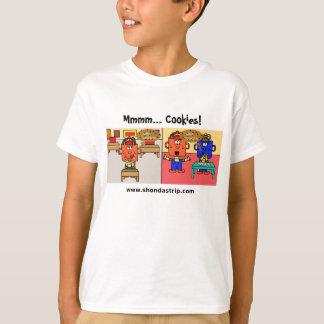 Camiseta de las galletas de Delightfuls de la tira