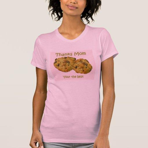 Camiseta de las galletas del día de madres