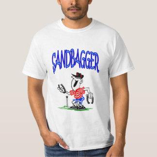 Camiseta de las herraduras del valor del playeras