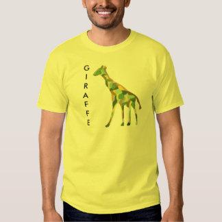 Camiseta de las jirafas remeras