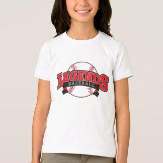camiseta de las leyendas de los chicas