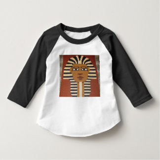 Camiseta de las mangas de raglán del niño del