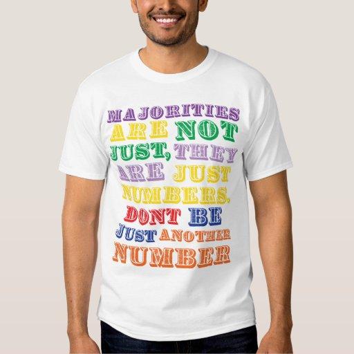 Camiseta de las mayorías polera