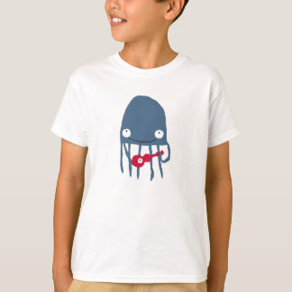 Camiseta de las medusas con Ukelele Playeras