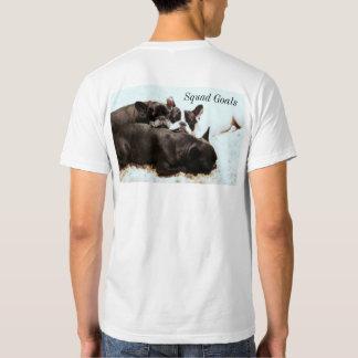 Camiseta de las metas del pelotón remera