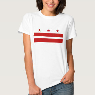 Camiseta de las mujeres con la bandera del remera