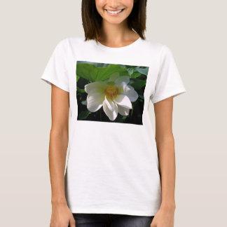 Camiseta de las mujeres con la flor de Lotus