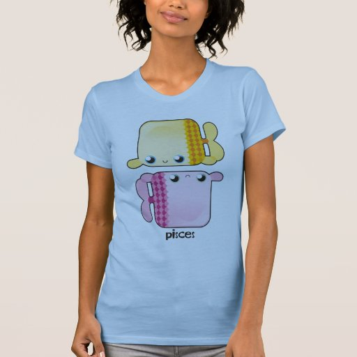 Camiseta de las mujeres de Piscis
