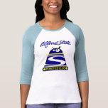 Camiseta de las mujeres del club de la robótica la