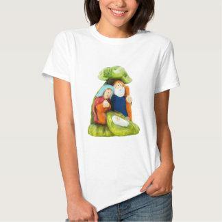 Camiseta de las mujeres del pesebre remeras