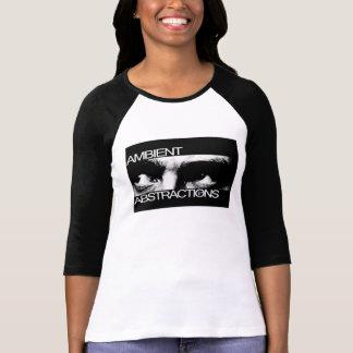 Camiseta de las mujeres paranoicas de las